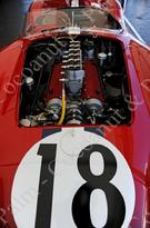 1957 Ferrari Testarossa Engine vintage racing