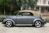 1955 1956 Volkswagen convertible restored